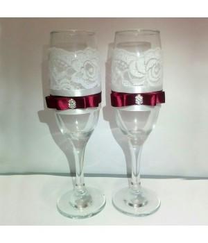 Свадебные бокалы №9
