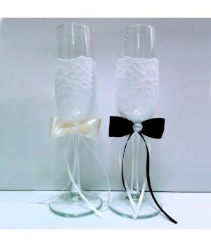 Свадебные бокалы №6