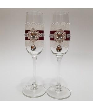 Свадебные бокалы №14