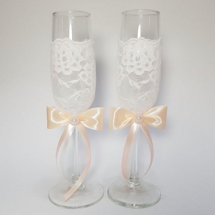 Свадебные бокалы №17