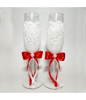 Свадебные бокалы №18