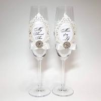 Свадебные бокалы №23