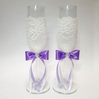 Свадебные бокалы №19