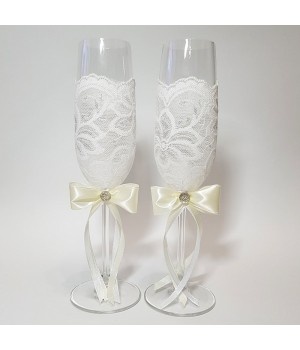 Свадебные бокалы №20