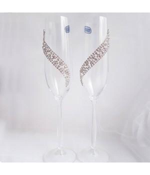 Свадебные бокалы №33