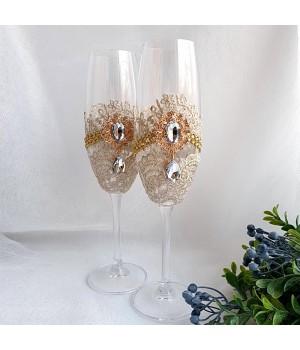 Свадебные бокалы №43