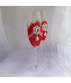 Свадебные бокалы №44