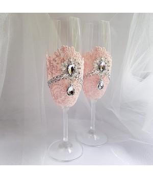 Свадебные бокалы №47