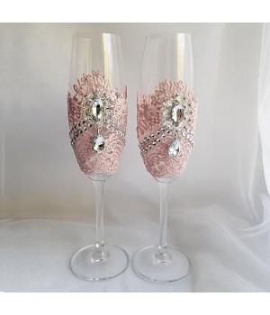 Свадебные бокалы №46