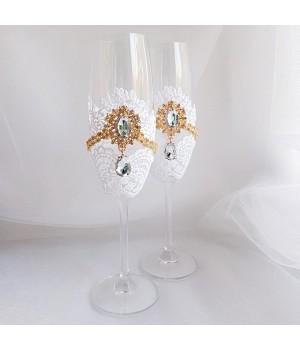 Свадебные бокалы №48