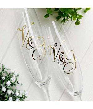 Свадебные бокалы №52