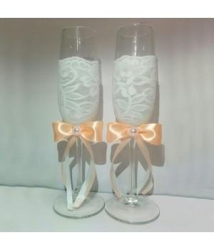 Свадебные бокалы №5