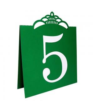 Номер на стол №5