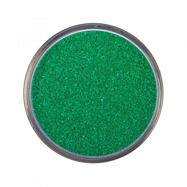Песок для песочной церемонии зеленый