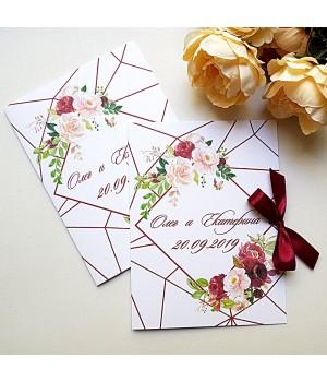 Свадебные пригласительные №510
