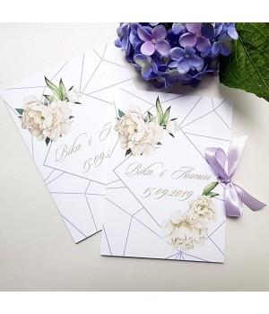 Свадебные пригласительные №521
