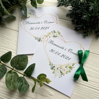 Свадебные пригласительные №584