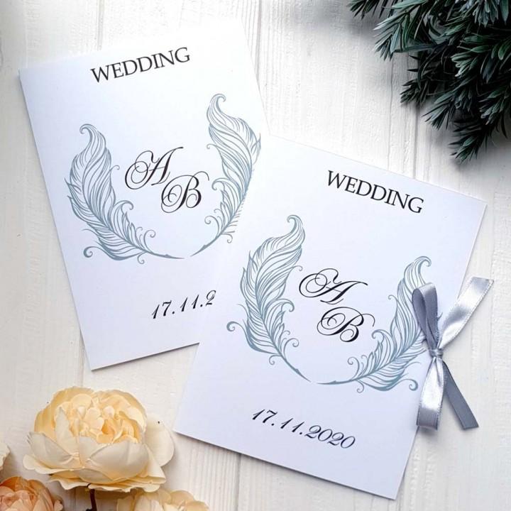 Свадебные пригласительные №591