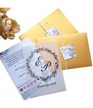 Свадебные пригласительные №415