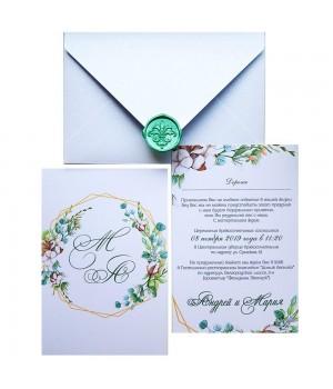 Свадебные пригласительные №410