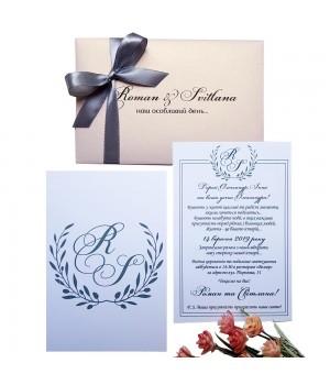 Свадебные пригласительные №420