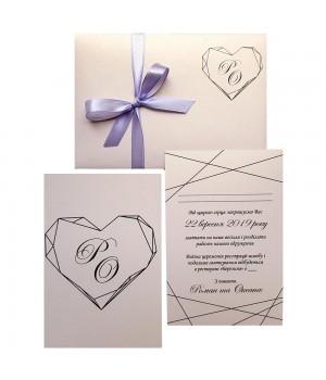 Свадебные пригласительные №423