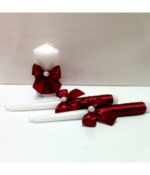 Свадебные свечи №1