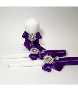 Свадебные свечи №13