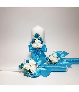Свадебные свечи №14