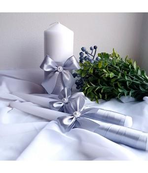 Свадебные свечи №21