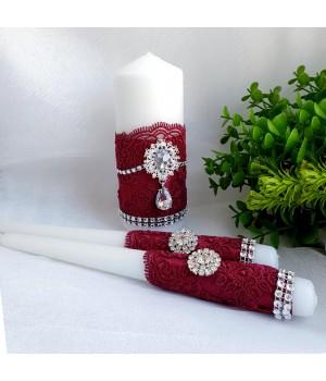 Свадебные свечи №24
