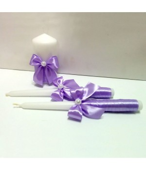 Свадебные свечи №3