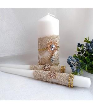 Свадебные свечи №25