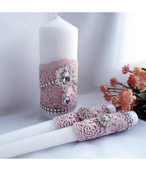 Свадебные свечи №28