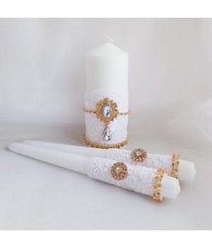 Свадебные свечи №26