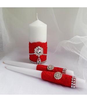 Свадебные свечи №35