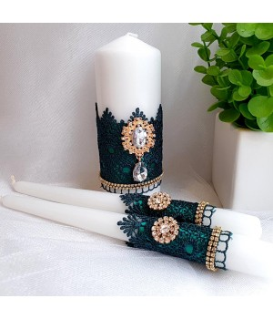 Свадебные свечи №37