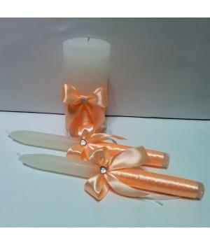 Свадебные свечи №4